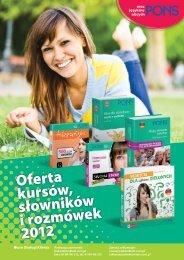 Oferta kursów, słowników i rozmówek 2012 - LektorKlett