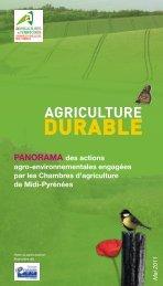 Durable - Chambre régionale d'agriculture Midi-Pyrénées