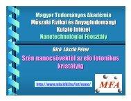 PDF, 10.8 M - Nanotechnology.hu