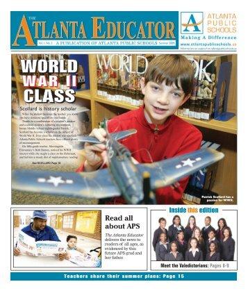 WWOOORRRLLLDD CCLLLAAASSSSS - Atlanta Public Schools