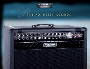 The Roadster - Mesa Boogie
