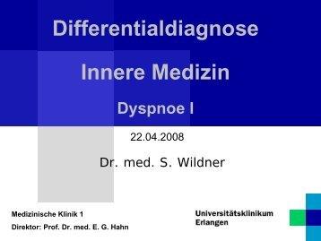 Prof. Dr. med. EG Hahn - Medizinische Klinik 1