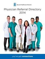 Physician Referral Directory 2013 - Bassett Physicians / Print A ...