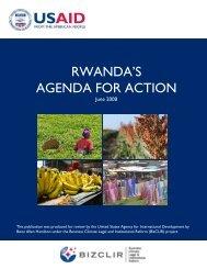 Rwanda BizCLIR Report - Economic Growth - usaid