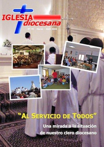 Revista IGLESIAdiocesana - 70 (Marzo-Abril 2008) - Plan alfa