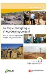 Politique énergétique et écodéveloppement - HELIO International