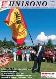 2. Kantonales St.Galler Musikfest in Uzwil Seite 4 Cantonale ...