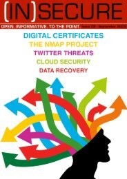 (IN)SECURE Magazine - DriveSavers Data Recovery
