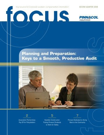 Keys to a Smooth, Productive Audit - Pinnacol Assurance
