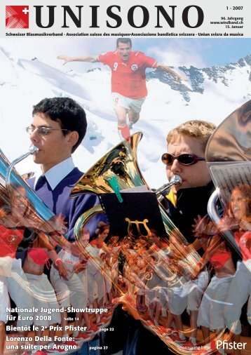 Dirigentin / Dirigent - Schweizer Blasmusikverband