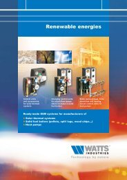 Heat pumps - Watts Industries
