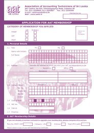Membership Application Form For New Applicants - The Association ...