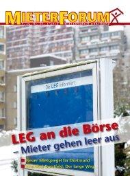 I/2013 - Mieterverein Dortmund und Umgebung eV