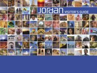 Visitor's Guide - Jordan Tourism Board