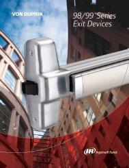 Von Duprin 98-99 Series Exit Devices - Access Hardware Supply