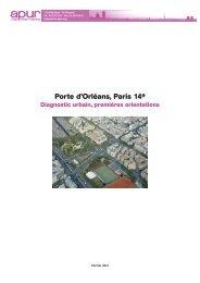 Porte d'Orléans, Paris 14e – Diagnostic urbain, premières ... - Apur