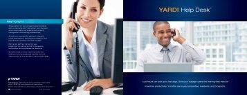 YARDI Help Desk™ - Investment, Asset & Property Management ...