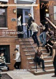 Et liv med ADHD - ADHD: Foreningen