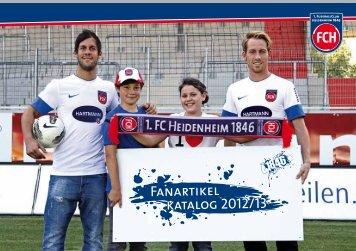 Fanartikel katalog 2012/13 - FCH Fanshop