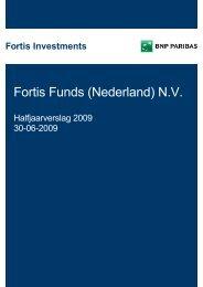 Fortis Funds (Nederland) N.V. - BNP Paribas Investment Partners