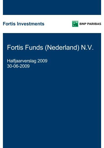 Fortis Funds (Nederland) N.V. - BNP Paribas Investment Partners