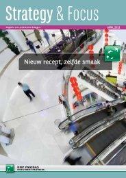 Nieuw recept, zelfde smaak - BNP Paribas Investment Partners