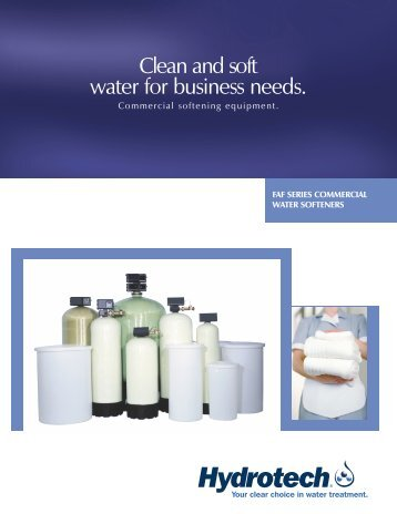 Clean and soft water for business needs. - Hydrotech