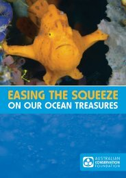 Easing the squeeze on our ocean treasures - Australian ...
