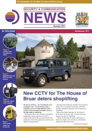 download the Summer 11 Newsletter - Scottish Communications