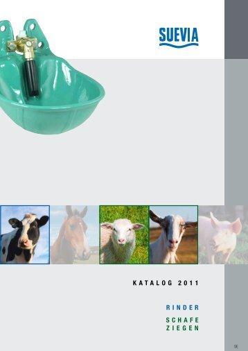 katalog 2011 RindeR Schafe Ziegen