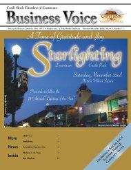 November/December - Castle Rock Chamber of Commerce