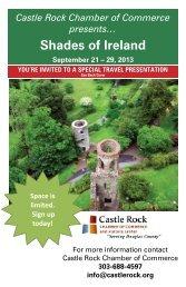 Shades of Ireland September 21 – 29, 2013 - Castle Rock Chamber ...