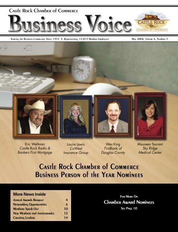 May 2008 - Castle Rock Chamber of Commerce