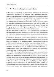 3.4 Der Titancarbonylkomplex als reaktive Spezies