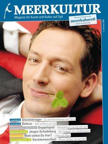 Meerkultur 2008 (PDF) - Meerkabarett