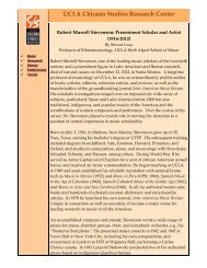 PDF - the UCLA Chicano Studies Research Center