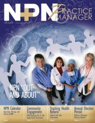 November/December 2009 - Northwest Physicians Network