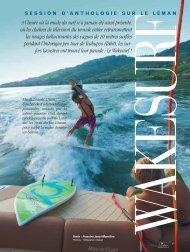 Le wakesurf - Magazine Sports et Loisirs