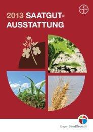 2013 SAATGUT- AUSSTATTUNG - Saatschutz