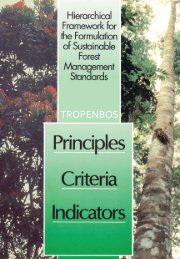 Download the publication - Tropenbos International