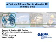 A Fast and Efficient Way to Visualize TRI Data - ChemicalRight2Know