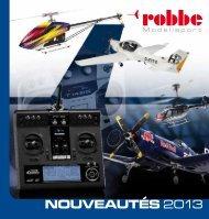 NOUVEAUTÉS 2013 - Robbe