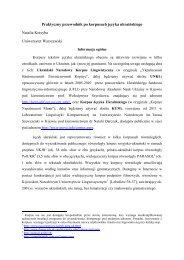 Praktyczny przewodnik po korpusach języka ukraińskiego Natalia ...