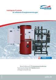 Trinkwassererwärmer YADO|AQUA PR