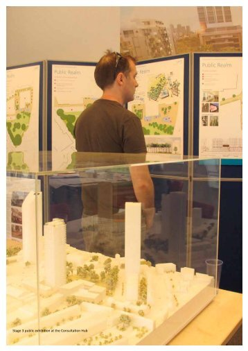 Stage 3 public exhibition at the Consultation Hub - Southwark ...
