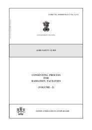 Volume 2 - Atomic Energy Regulatory Board