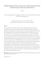 GPC WLB 3rd draft - School of Geography - Queen Mary, University ...