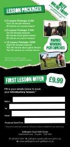 CG=Addington Orbis Golf Academy DL Price List=Jan13 1933 v3.indd - Page 2