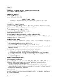 Annexe-convention - Académie de Nancy-Metz