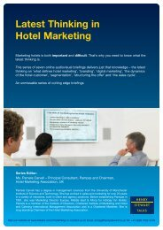 Latest Thinking in Hotel Marketing - Henry Stewart Talks
